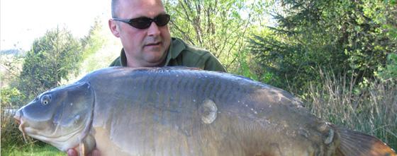 Carp Fishing in France at Paradise Lakes - Big Carp Fishing