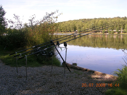 Carp Fishing in France at Paradise Lakes