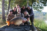 Carp Fishing in France Catch Report - Hubbard's Mastic Snagger's and the awesome carp catcher's