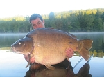 Carp Fishing in France Catch Report - Ian&Adam