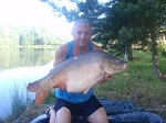 Carp Fishing in France Catch Report - Half of the cracker's