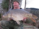 Carp Fishing in France Catch Report - Bob opens up 2015 season