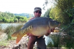 Carp Fishing in France Catch Report - Jack