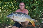 Carp Fishing in France Catch Report - Three Men and a wa**ing warthog.