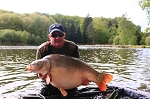 Carp Fishing in France Catch Report - Paul smith