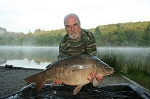 Carp Fishing in France Catch Report - Steve, Phil, Tony