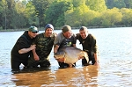 Carp Fishing in France Catch Report - Henreich Himmler's lycra boy's