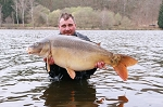 Carp Fishing in France Catch Report - Carping cow boys