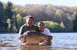 Carp Fishing in France Catch Report - The black swan twitcher's & Co