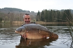 Carp Fishing in France Catch Report - Start of the 2009 season