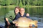 Carp Fishing in France Catch Report - Izaak Walton and the Reuben Heaton 120's