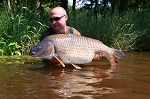 Carp Fishing in France Catch Report - Phil & Lee's summer outing