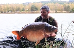 Carp Fishing in France Catch Report - Self Lake stringers