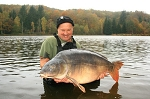 Carp Fishing in France Catch Report - Bob Whicker's fishing tours