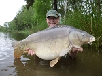 Carp Fishing in France Catch Report - Hippoberry fin and knowers discipels 