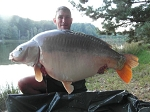 Carp Fishing in France Catch Report - The sixty slayers and Puff the magic Dragon Concur Paradise.
